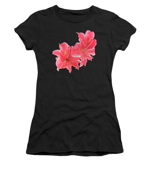 Pink Amaryllis At Sunset Women's T-Shirt