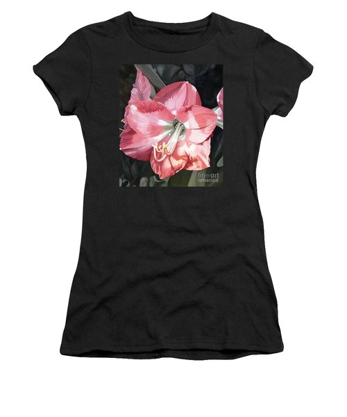 Pink Amaryllis Women's T-Shirt