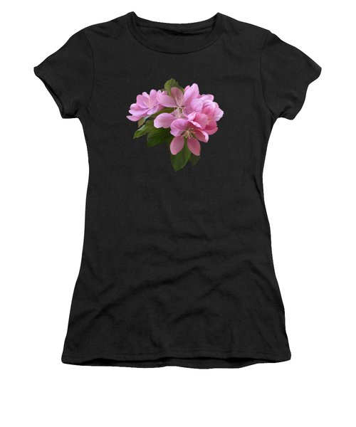 Women's T-Shirt featuring the painting Pink Blossoms by Ivana Westin