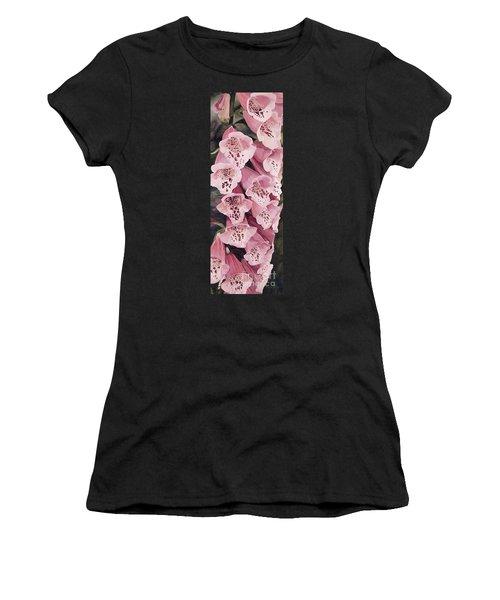 Pink Foxglove Women's T-Shirt
