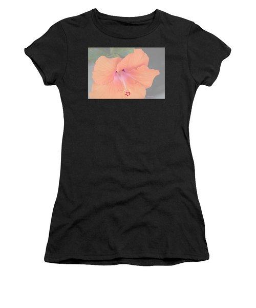 Pink Heavenly Hibiscus Women's T-Shirt