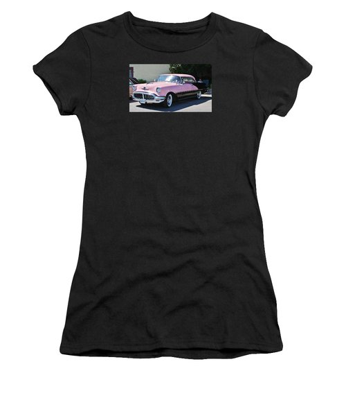 Women's T-Shirt (Junior Cut) featuring the photograph Pink Is A Color by Al Fritz