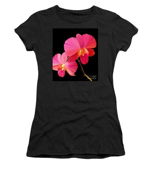 Pink Lux Women's T-Shirt (Junior Cut) by Rand Herron