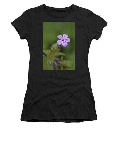 Pink Phlox Wildflower Women's T-Shirt