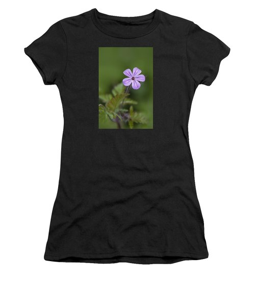 Pink Phlox Wildflower Women's T-Shirt