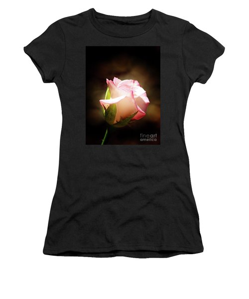 Pink Rose 2 Women's T-Shirt (Athletic Fit)
