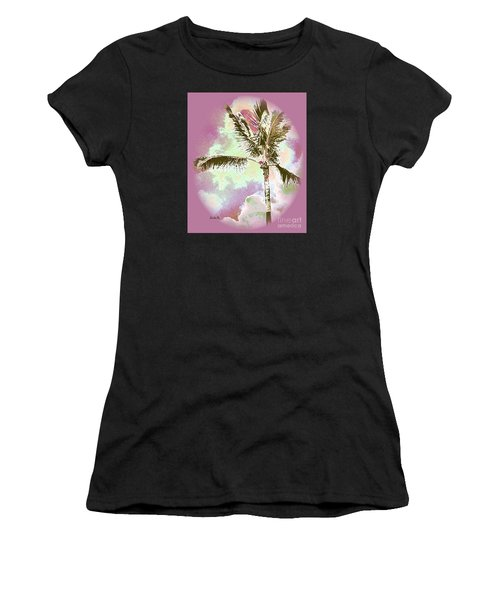 Pink Skies Women's T-Shirt (Athletic Fit)