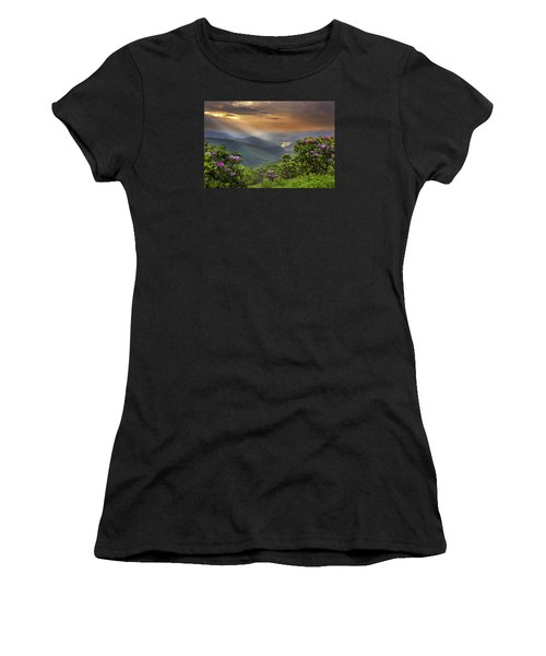 Pinnacle Sunset  Women's T-Shirt (Athletic Fit)