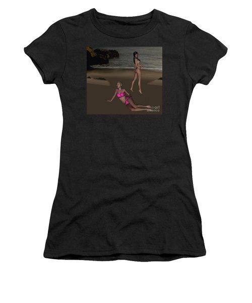 Pinups At Dusk Women's T-Shirt