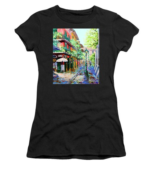 Pirates Alley - French Quarter Alley Women's T-Shirt (Athletic Fit)