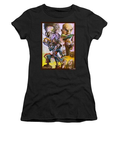 Pirates Of The Caribbean Women's T-Shirt (Athletic Fit)