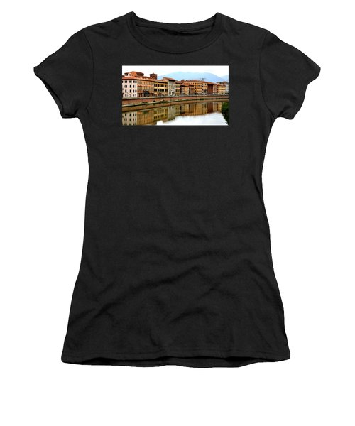 Pisa Reflections Women's T-Shirt (Athletic Fit)
