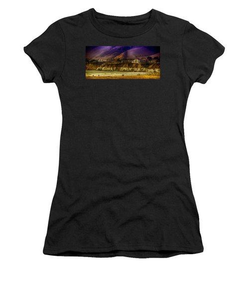 Pismo Beach Cove Women's T-Shirt (Athletic Fit)