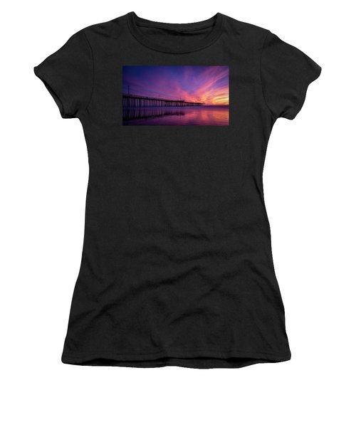 Women's T-Shirt (Junior Cut) featuring the photograph Pismo's Palette by Sean Foster