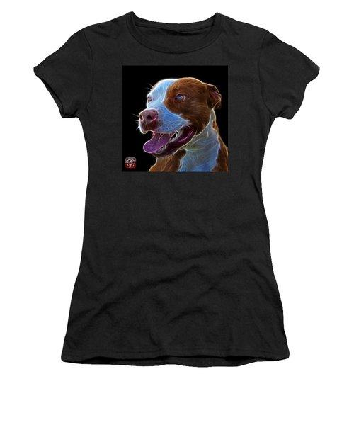 Pit Bull Fractal Pop Art - 7773 - F - Bb Women's T-Shirt (Athletic Fit)