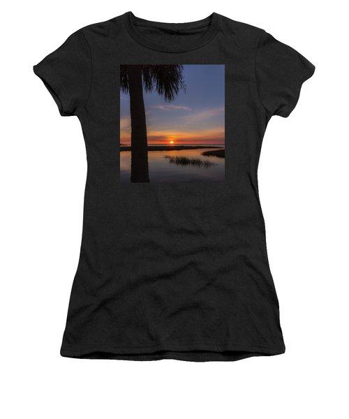 Pitt Street Bridge Palmetto Sunset Women's T-Shirt