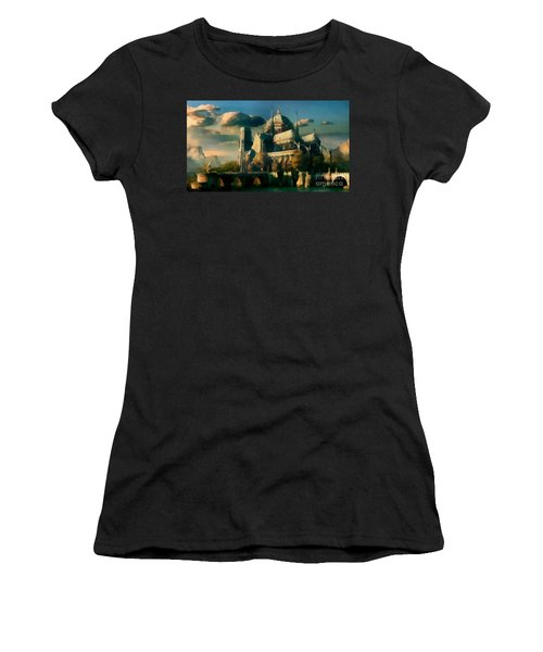 Places Angels Dwell Painted In Bleak Women's T-Shirt