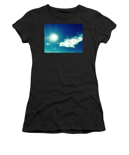 Platinum Rays And Angelic Cloud Bless The Prairie Women's T-Shirt