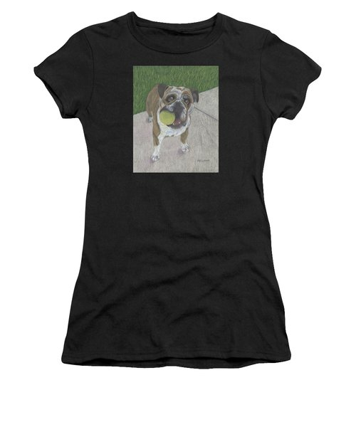Play With Me Women's T-Shirt (Athletic Fit)