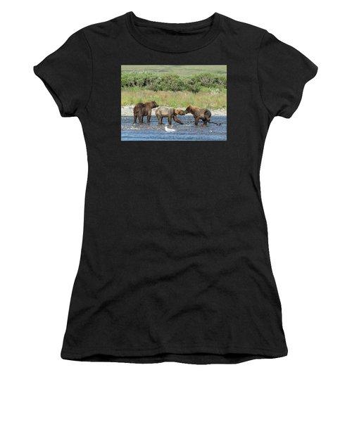 Playful Cubs Women's T-Shirt