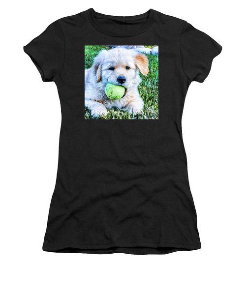 Playful Pup Women's T-Shirt