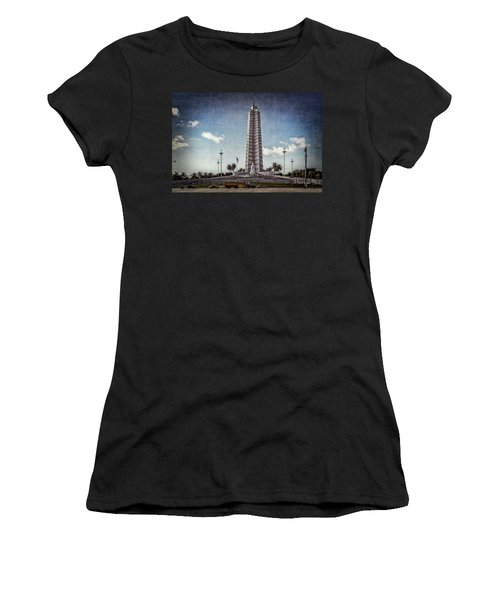 Plaza De La Revolucion Women's T-Shirt (Athletic Fit)