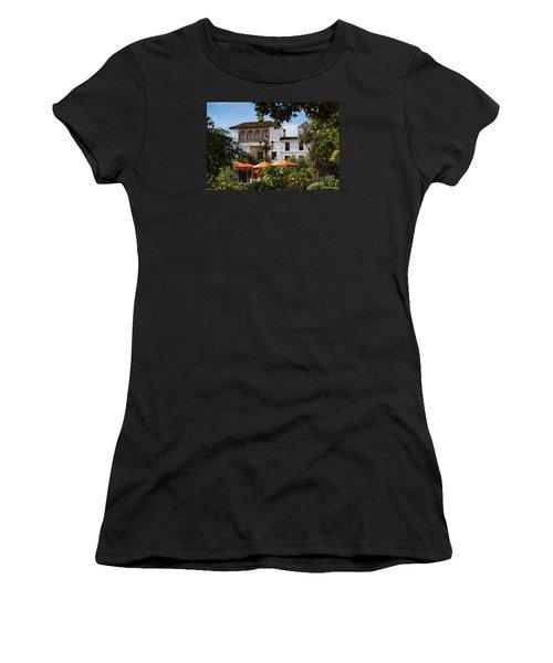 Plaza De Naranjas Women's T-Shirt (Athletic Fit)