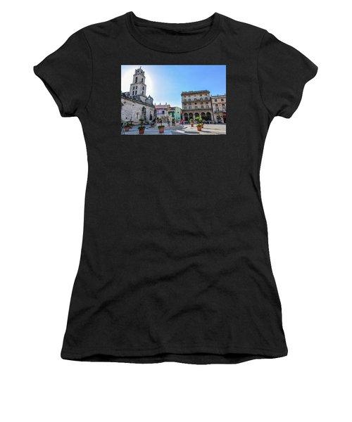 Plaza De San Francisco De Asis Women's T-Shirt (Athletic Fit)