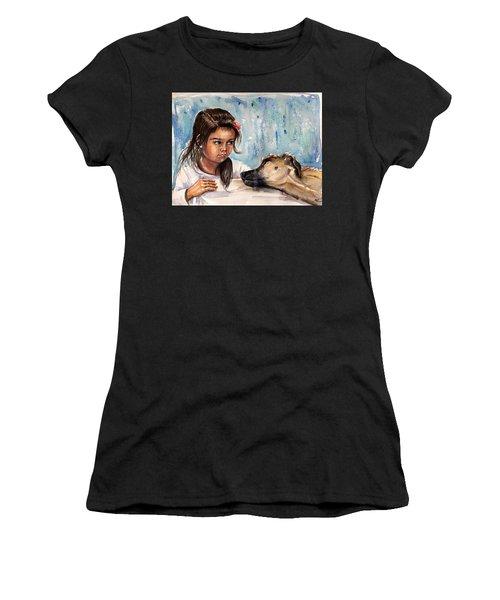 Please, Don't Go Away Women's T-Shirt