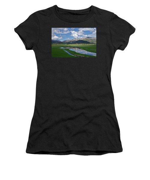 Plentiful Valley Women's T-Shirt (Athletic Fit)