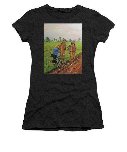 Plowing Match Women's T-Shirt