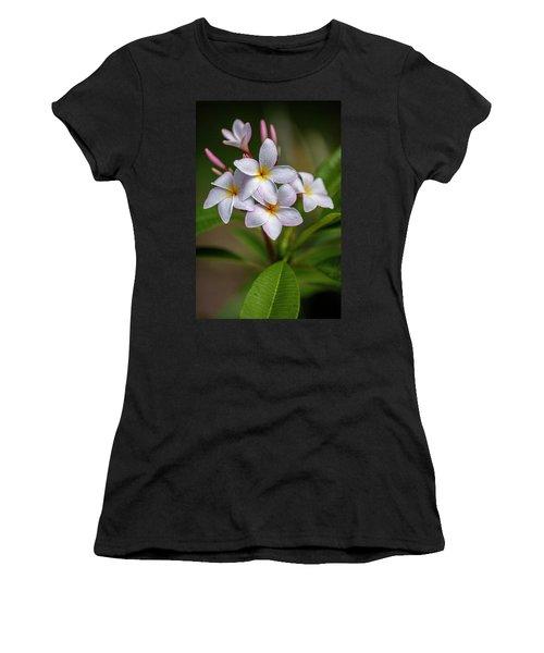 Plumeria 3 Women's T-Shirt (Athletic Fit)
