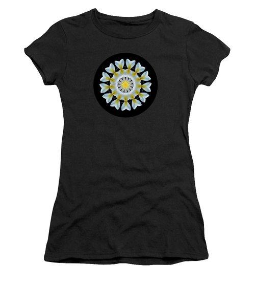 Plumeria Mandala By Kaye Menner Women's T-Shirt