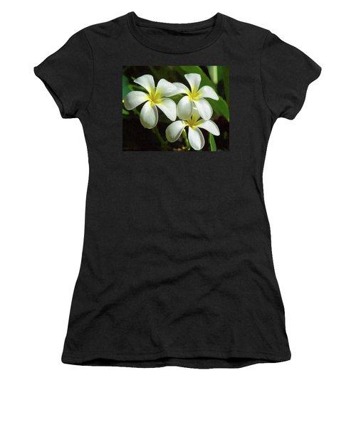 Plumeria Trio Women's T-Shirt