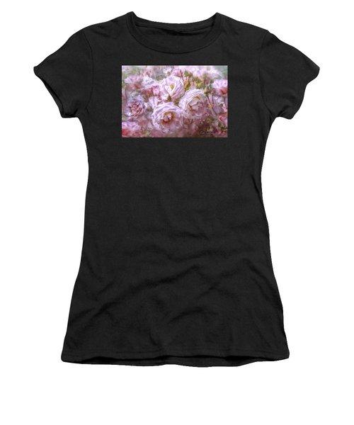 Pocket Full Of Roses Women's T-Shirt (Athletic Fit)