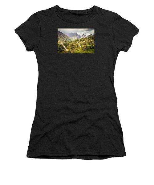 Podocarpus National Park Women's T-Shirt (Athletic Fit)
