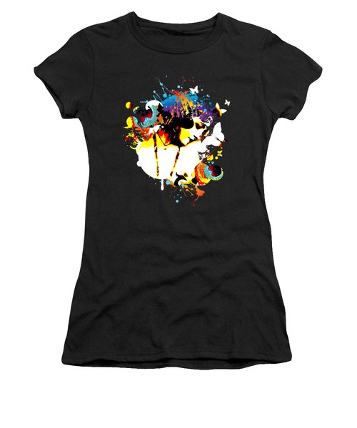 Poetic Peacock Women's T-Shirt (Athletic Fit)