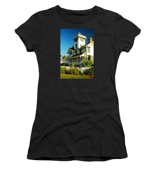 Point Fermin Lighthouse Women's T-Shirt (Athletic Fit)
