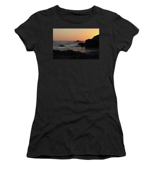 Point Lobos Sunset Women's T-Shirt