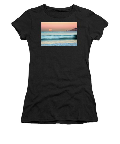 Point Loma Moonset Women's T-Shirt