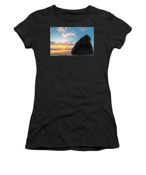 Women's T-Shirt (Junior Cut) featuring the photograph Point Meriwether by Ryan Manuel