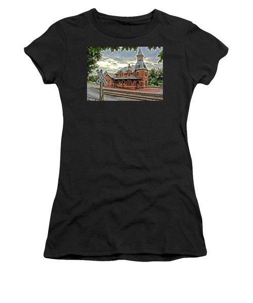 Point Of Rocks Train Station Women's T-Shirt