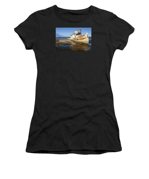 Point Reyes Shipwreck Women's T-Shirt (Athletic Fit)