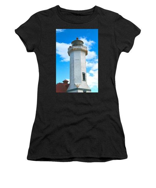 Point Wilson Light Close Up Women's T-Shirt