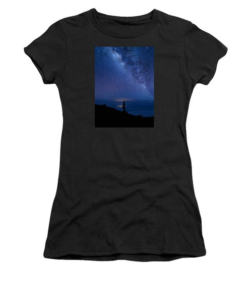 Pointing To The Heavens Women's T-Shirt