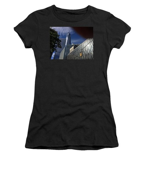 Pointing Towards The Sky Women's T-Shirt
