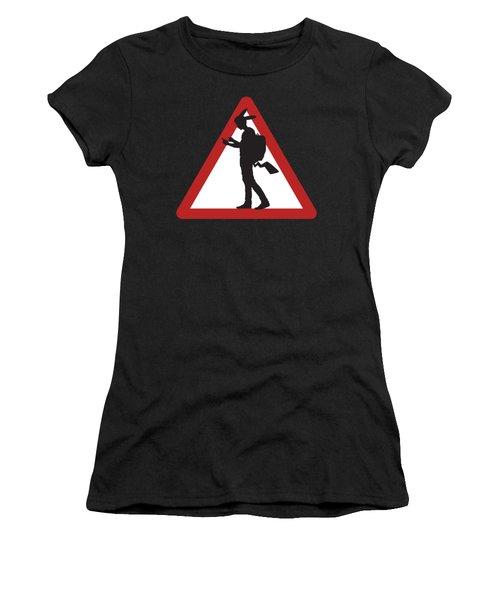 Pokeman Road Signage 1 Women's T-Shirt