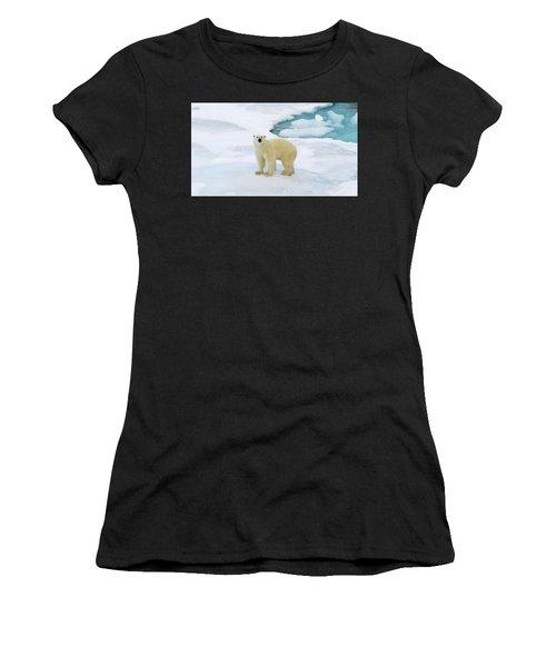 Polar Gaze Women's T-Shirt (Athletic Fit)