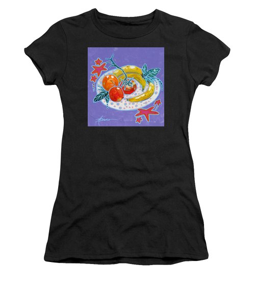 Polka-dot Plate  Women's T-Shirt