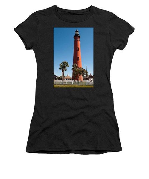Ponce De Leon Inlet Light Women's T-Shirt (Athletic Fit)
